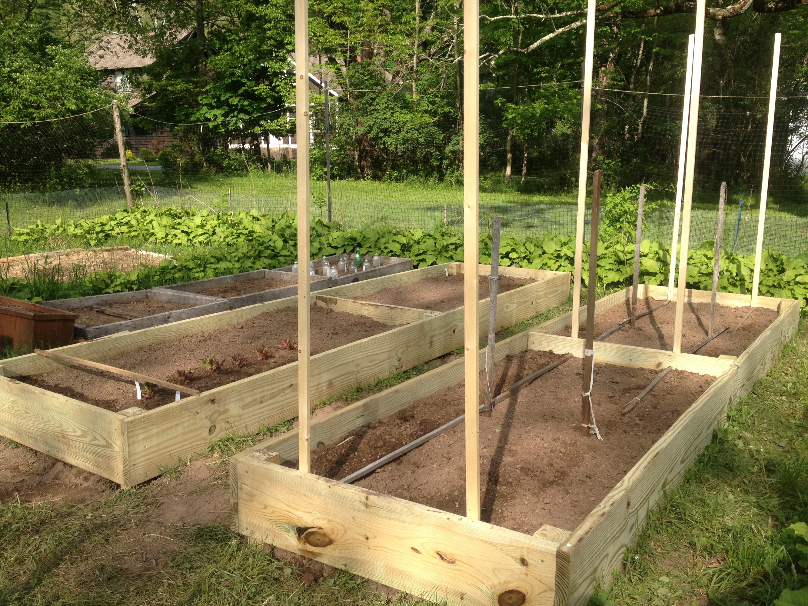 Raised Garden Beds • The Farmhouse Project