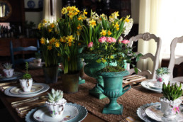 The Farmhouse Project: Spring Tablescape