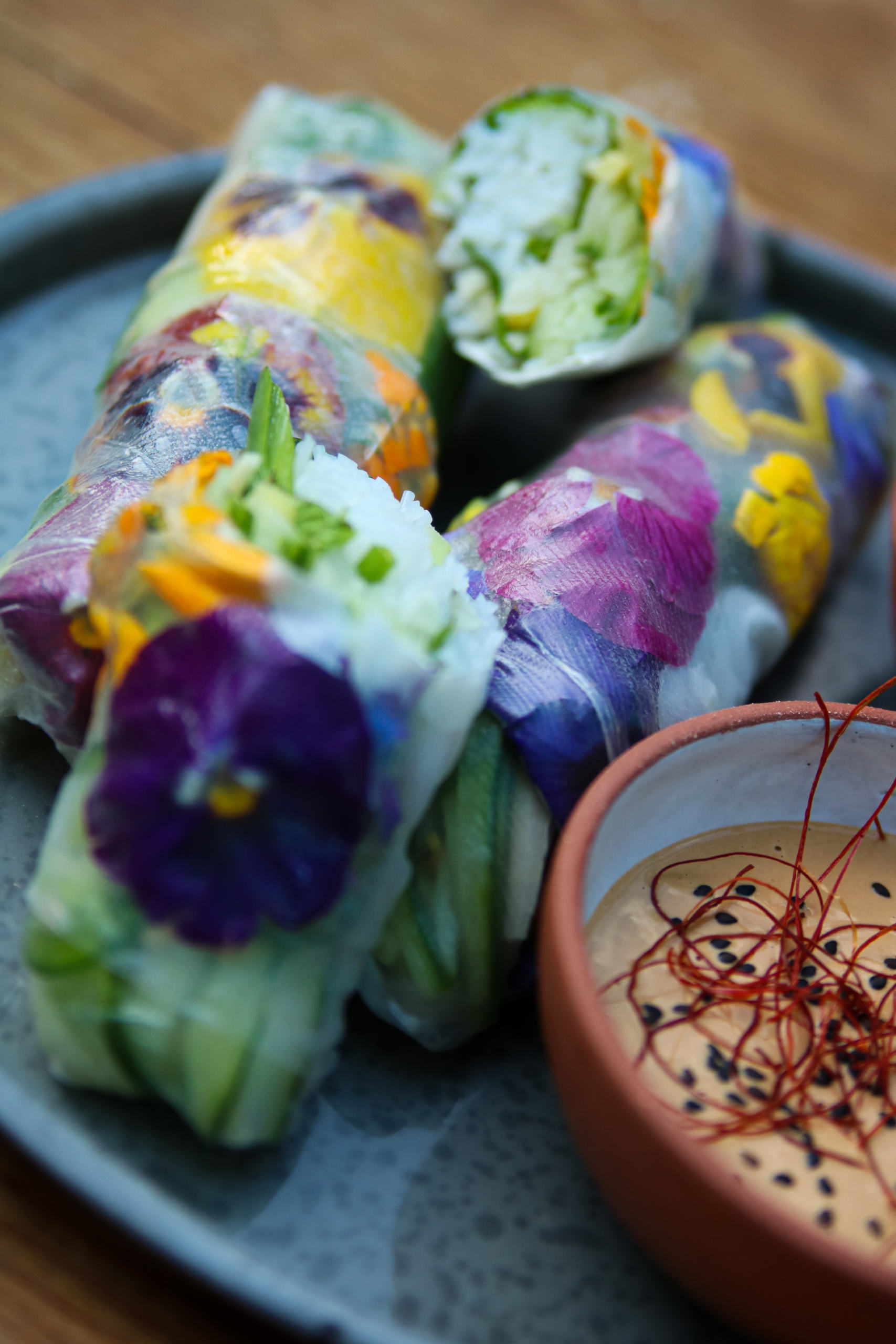 Fresh Vietnamese Spring Rolls The Farmhouse Project